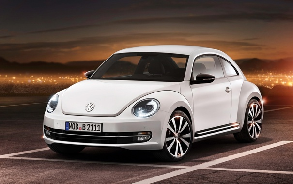 Фото обои car, concept, volkswagen, 2012, beetle, жучок