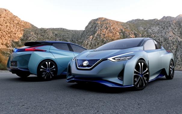 Фото обои Concept, концепт, Nissan, ниссан, IDS