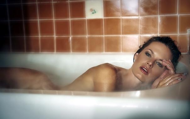 Фото обои ванна, Actress, LAUREN SHAW