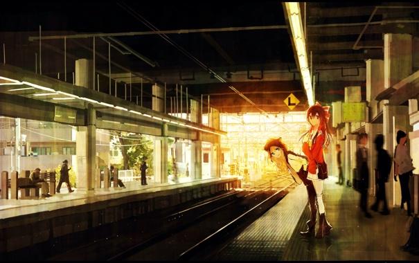 Фото обои люди, девушки, аниме, знаки, арт, touhou, kirisame marisa
