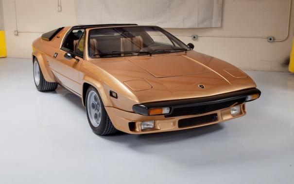Фото обои Lamborghini, мощь, классика, бронза, Silhouette \'1976–78