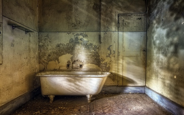 Фото обои комната, интерьер, ванна