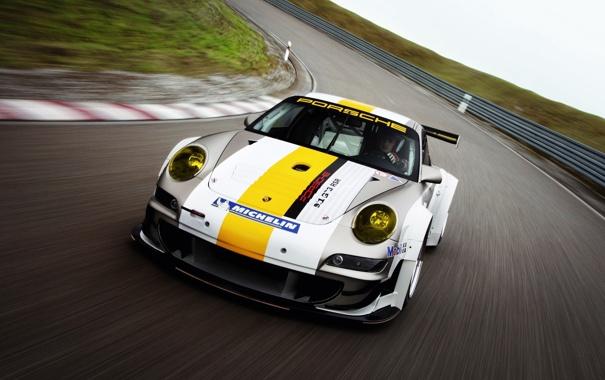 Фото обои трасса, 911, Porsche, порше, gt3