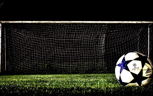 Фото обои HDR, Goal, Old Soccer