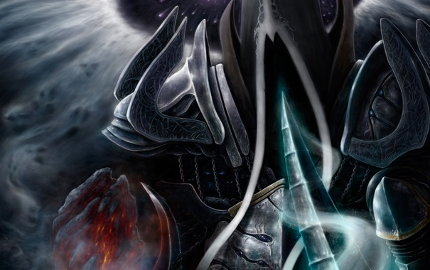 Фото обои Diablo 3, Reaper of Souls, Angel of Death, Malthael