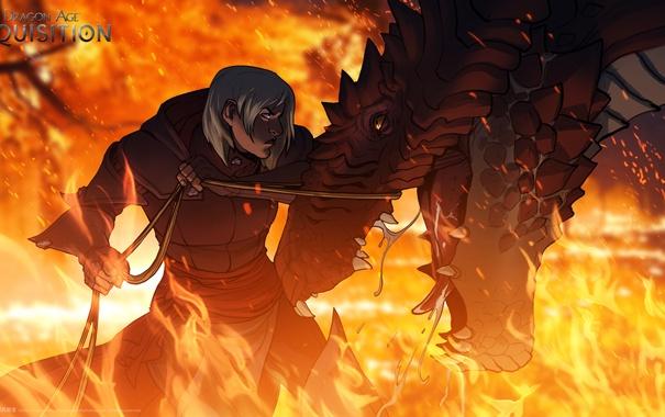 Фото обои дракон, art, bioware, Dragon Age: Inquisition