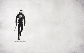Картинка half life, гордон фриман, один свободный человек