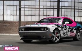 Обои Игра, Машина, Челенджер, Додж, SRT8, Car, Dodge Challenger