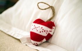 Обои сердце, настроение, игрушка