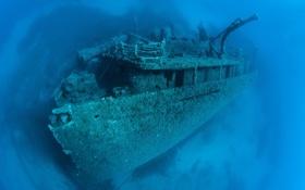 Картинка вода, корабль, дно