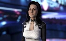 Обои Miranda Lawson, Mass Effect, Cerberus Officer