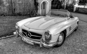 Обои Roadster, классика, 1957 Mercedes-Benz 300 SL