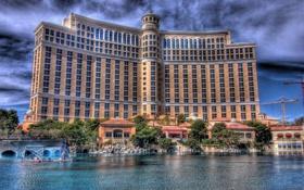Обои бассейн, Лас-Вегас, USA, США, отель, pool, Las Vegas