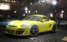 Обои гараж, Porsche 911, Ubisoft, The Crew
