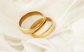 Обои украшения, кольца, ткань