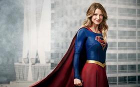 Картинка костюм, фантастика, TV Series, улыбка, фон, DC Comics, 2015