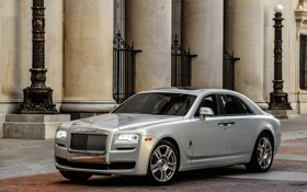 Обои гост, Ghost, Rolls-Royce, роллс-ройс