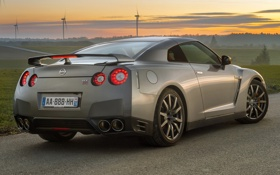 Обои R35, GT-R, Ниссан, Nissan, Premium Edition, ГТ-Р, суперкар