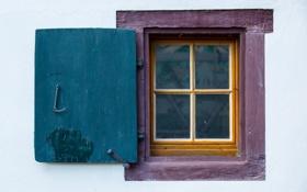 Картинка дом, фон, стена, окно