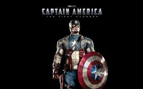 Обои первый мститель, captain america: the first avenger