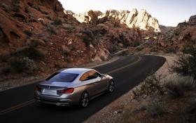 Обои Концепт, BMW, 4 Series, Concept, Дорога, Автомобиль, БМВ