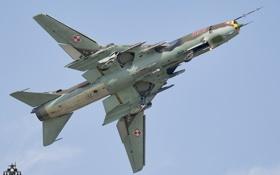 Картинка оружие, Polish Air Force, Sukhoi Su-22M-4K
