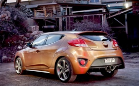 Обои car, Hyundai, Veloster, Turbo, wallpapers