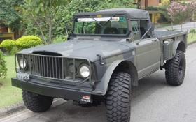 Обои раскраска, колеса, тюнинг, Кайзер Jeep M715, американский, полноприводный, военный