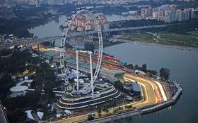 Обои гонка, скорость, болид, формула-1, formula-1, sepang f1 international circuit, автодром