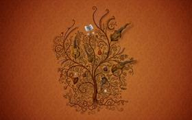 Картинка ноты, музыка, дерево, скрипка, текстура, труба, арфа