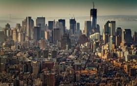Картинка город, Нью-Йорк, США, Манхэттен, Нью Йорк, New York City