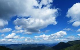 Картинка небо, горы, Украина, Карпаты, Гутин-Томнатик