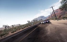 Обои горы, гонка, трасса, шоссе, тачки, Need for Speed Hot Pursuit