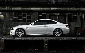 Картинка белый, бмв, купе, BMW, E92