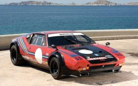 Картинка пантера, гоночное авто, 1972, De Tomaso, Pantera, де томазо, Gr. 4