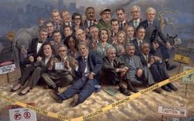 Картинка люди, картина, арт, американцы, сша, Liberalism Is A Disease