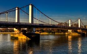 Обои англия, лондон, london, england, Chelsea Bridge