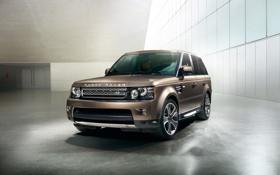 Обои джип, внедорожник, Range Rover, 2012, Sport