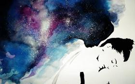 Картинка арт, фантазия, девушка