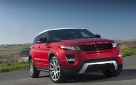 Картинка Red, Evoque, Range Rover