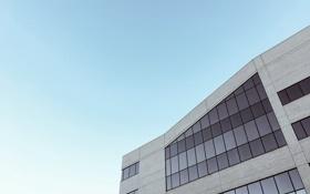 Обои окна, здание, небо