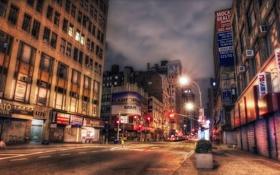 Картинка city, night, street