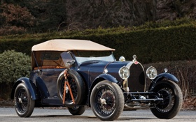 Картинка 1929, Type 44, 4-seat, Bugatti, автомобиль, Open Tourer, старинный