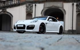 Обои машины, widescreen, Porsche, порш, auto, Panamera Grand GT