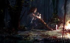 Обои девушка, tomb raider, крофт, лара