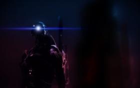 Картинка легион, mass effect, geth, legion, гет