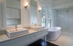 Обои дизайн, дом, стиль, комната, вилла, интерьер, ванная