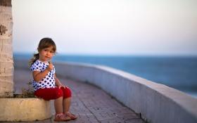 Картинка взгляд, настроение, девочка