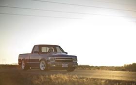 Картинка закат, Chevrolet, Sport, S10