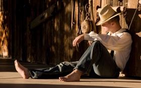 Картинка солнце, отдых, тень, шляпа